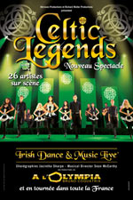 CELTIC LEGENDS - NOUVEAU SPECTACLE