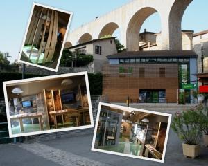 Visite libre office de tourisme du pays du royans aqueduc et espace royans vercors - Office de tourisme de st nazaire ...