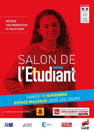 Salon de l 39 etudiant de tours espace malraux parc des - Salon etudiant orleans ...