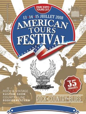 american tours festival 2018 pass 3 jours parc des expositions grand hall tours 37000. Black Bedroom Furniture Sets. Home Design Ideas