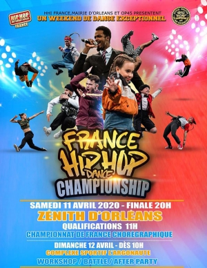 HIP HOP INTERNATIONAL FRANCE 2020 - QUALIFICATIONS