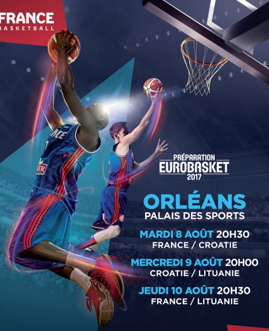 Pack 3 matchs eurobasket 2017 palais des sports d for 3 phases salon new orleans