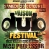 affiche MAD PROFESSOR VS PRINCE FATTY - CULTURE DUB SOUND SYSTEM ET SISTA B