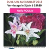 affiche Exposition de Nelly Poulin