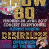 affiche Concert SHOW 80 avec Desireless