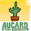 affiche AUCARD DE TOURS - MARDI 13 JUIN - JACQUES - THE PHARCYDE - BLUES PI..