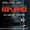 affiche KERY JAMES - CONCERT ACOUSTIQUE
