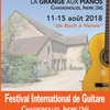 affiche Festival International de Guitare et de Luth