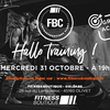affiche Training Halloween