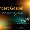 affiche CONCERT GOSPEL - MiX d'XPRESSION