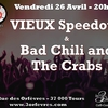 affiche Vieux Speedouc et Bad Chili and the Crabs