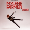 affiche MYLENE FARMER BUS TOURS + FOSSE OR - PARIS DEFENSE ARENA
