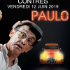 affiche PAULO A TRAVERS CHAMPS